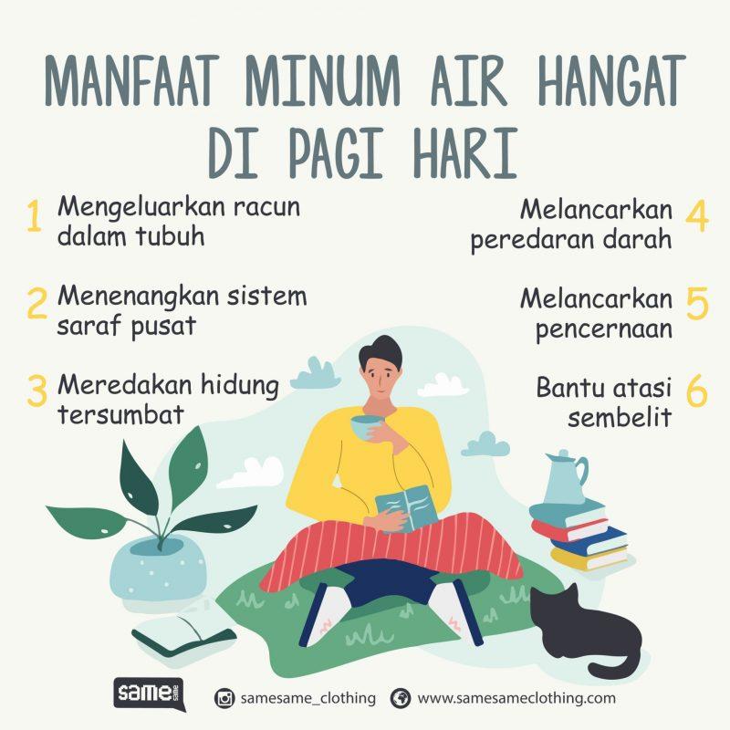 Manfaat Minum Air Hangat Di Pagi Hari Samesame Clothing